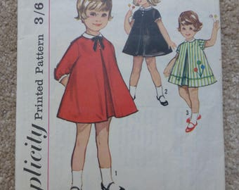 Simplicity pattern 5219 Toddler size 1