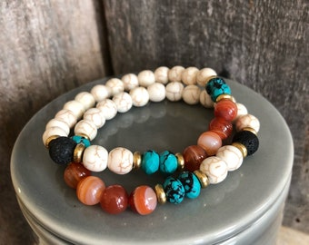 Tropical Vibes Essential Oil Diffuser Bracelet