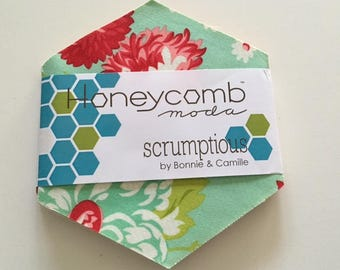 SALE. Scrumptious Honeycomb Pack by Bonnie and Camille for Moda