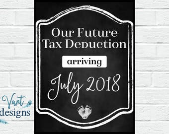 Tax Deduction - Pregnancy Announcement
