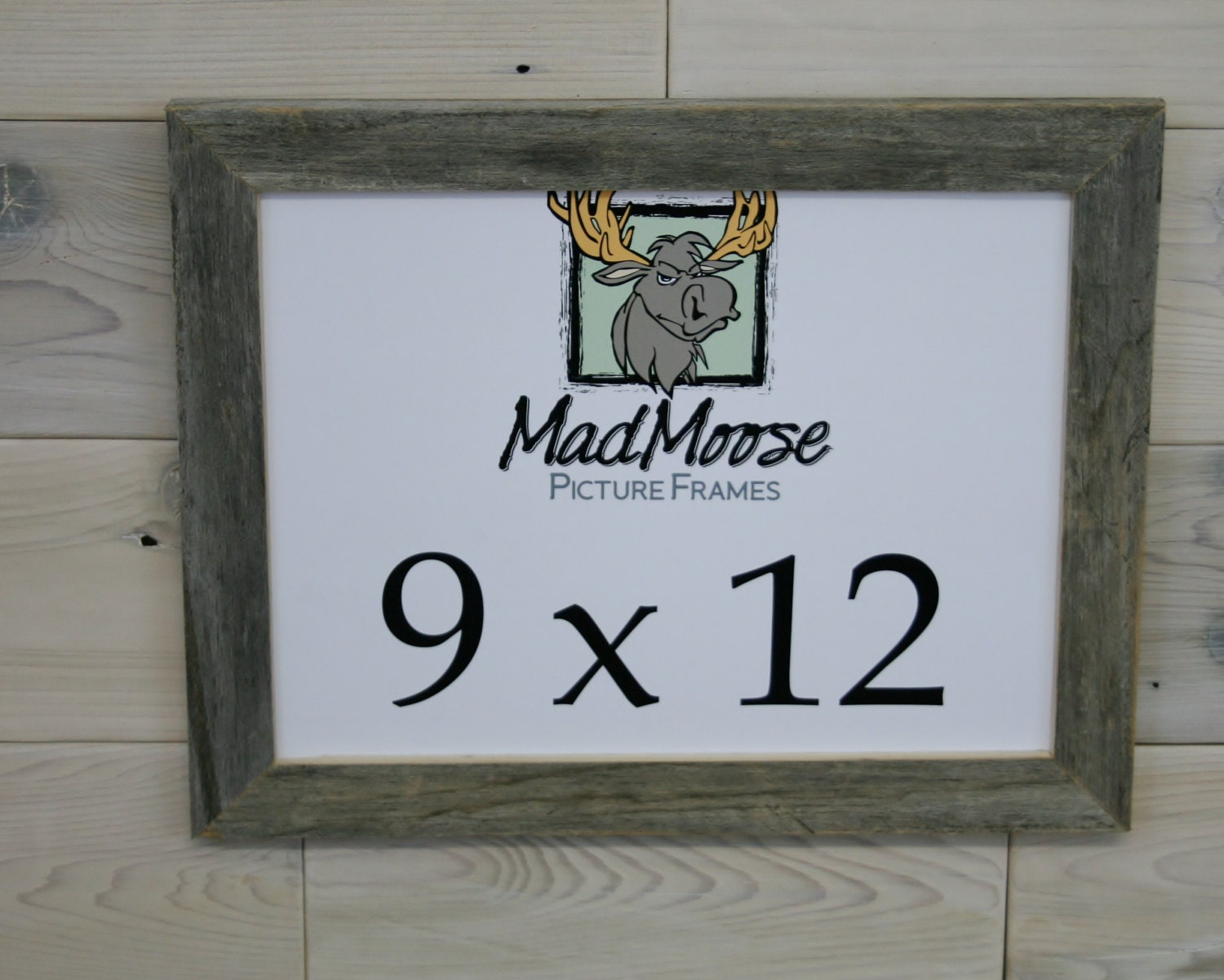 9x12 thin x 125 barn wood picture frame request a custom order and have something made just for you jeuxipadfo Images