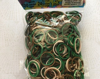 Rainbow Loom Camo Rubber Bands