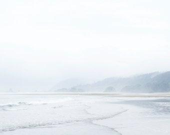 White Space  |  Ocean Art Photography  |  Minimal Wall Decor  |  Coastal Print