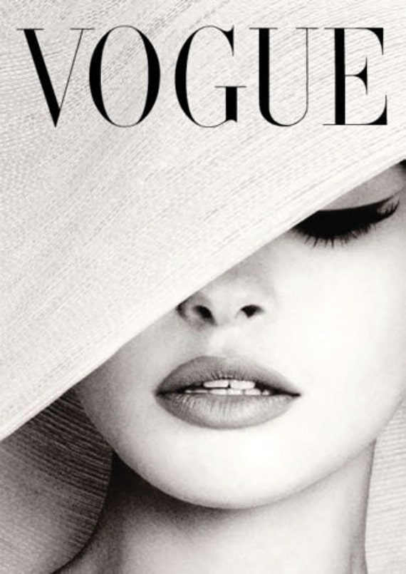 Black And White Vogue Posters