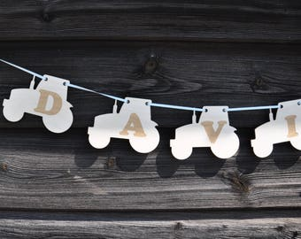 BUNTING   can be personalised   any shape