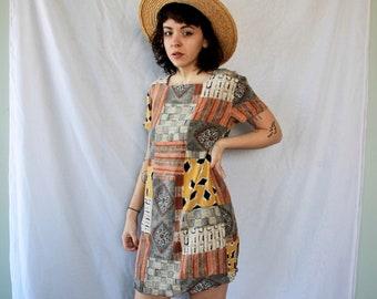 Vintage Tunic Dress // Summer Dress // Womens Dress