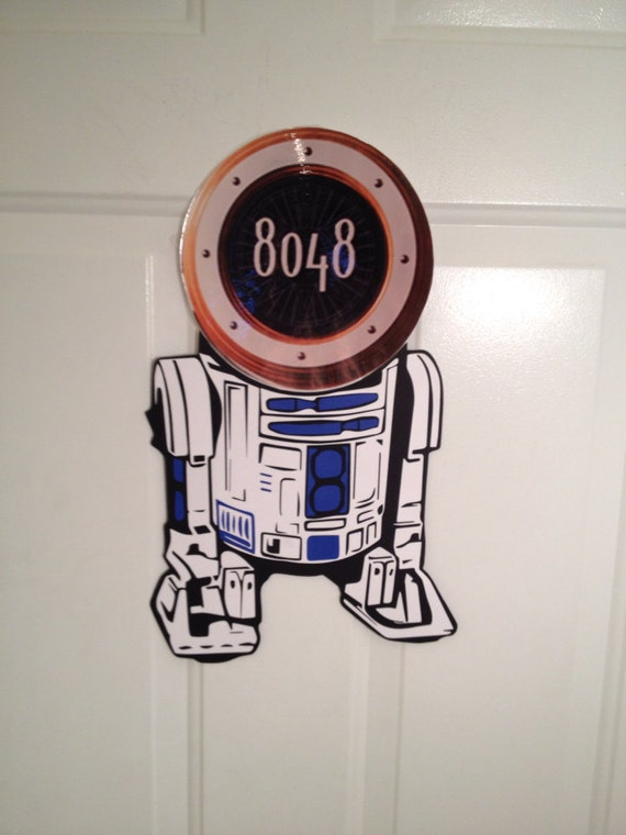R2d2 Star Wars Disney Cruise Body Part Stateroom Door Magnets