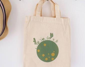 Mini shopping bag, reusable bag zero waste, ethical and eco-friendly gift