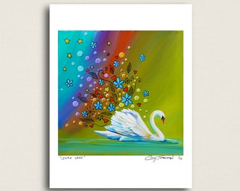 Swan Lake - when you burst into song - Limited Edition Signed 8x10 Semi Gloss Print (4/10)