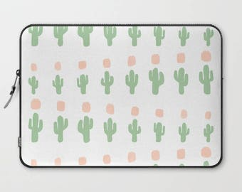 Cactus Laptop Sleeve, Cactus Laptop Cover, Sleeve, Laptop Sleeve 13, Laptop Sleeve 15, MacBook Sleeve 13, Laptop Sleeve 13 inch