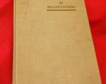 Sartoris by William Faulkner 1951 reissue. Ex libris