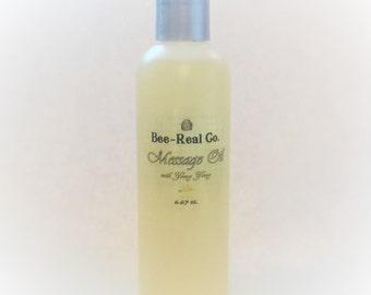 All NaturalMessage/Bath Oil with Ylang Ylang