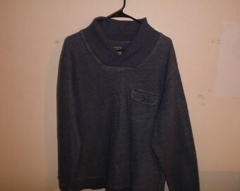 Pendleton Surf Shawl Collar Sweater XL Size