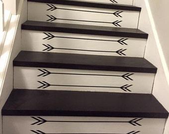 Stairs Vinyl Arrow Decals - Vinyl Arrow Decals - Arrow Decals