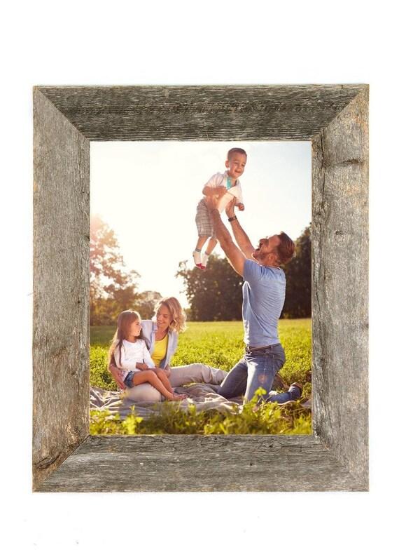 Rustic Wood Frame, Barnwood Picture Frame, Reclaimed Wood Frame, 5x7 ...