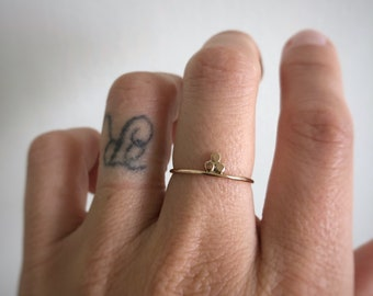Dot stack ring