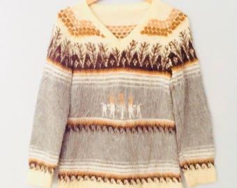 1980s Alpaca Sweater
