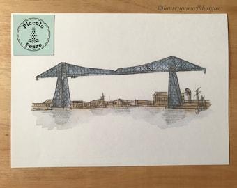 Transporter Bridge print