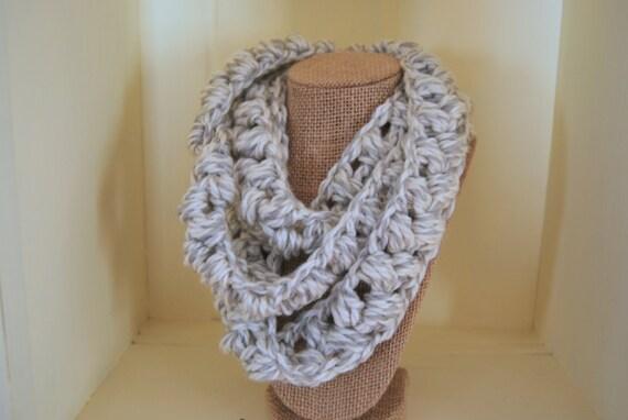 Crochet Pattern Infinity Scarf Pattern Crochet Pattern For