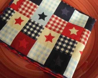 cloth napkins for the 4th of July, Set of 4 or set of 6,  Independence day