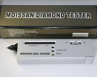 Diamond Moissanite Tester, Gemological Tool, Distingushes between Diamond and Moissanite, Distinguishes between Diamonds and other Fakes