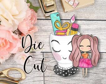 Die Cut- Cute Dolls- Planner Essentials