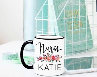 Nurse Mug, Nurse Gift, RN Mug, RN Gift, Graduation Gift for Nurse, Gift for Nurse, Registered Nurse, Nursing School, Nurse Appreciation