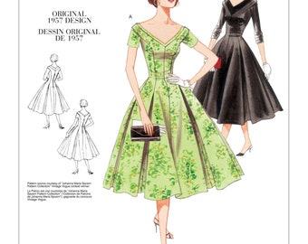 Vogue 2903 1950s 1957 Uncut Reissue Vintage Pattern