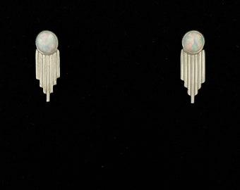 Opal Warrior Earrings