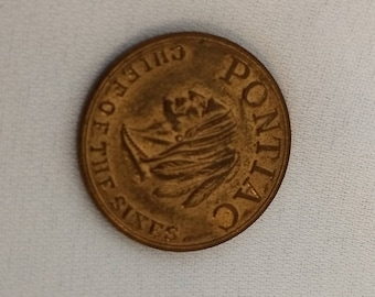 Vintage Pontiac/General Motors Token