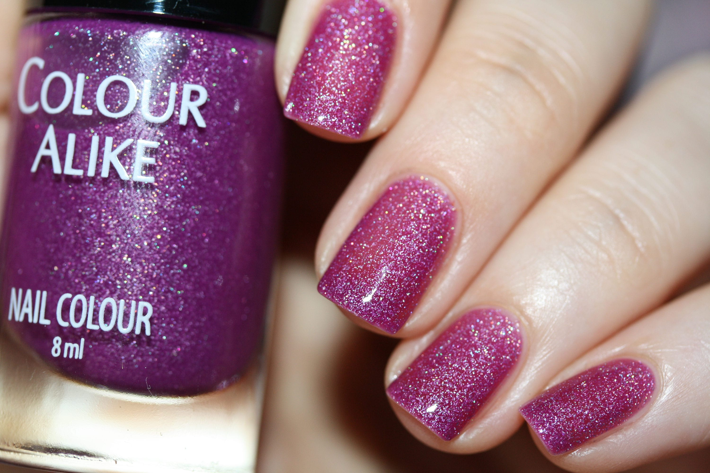 Quiet nights - Ultra holographic nail polish from ColourAlike on ...