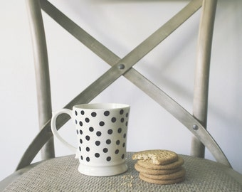 Spot Print Pattern Mug