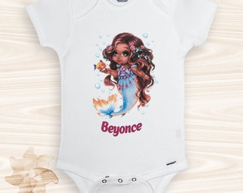 African baby clothes etsy mermaid onesie baby girl clothes african american baby clothes mermaid baby outfit negle Choice Image