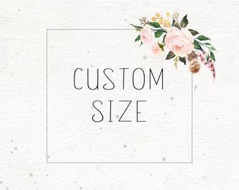 Custom size print