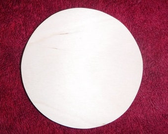 Wooden circle, circle, cutout, unfinished circle, circle decor, craft circle, circle project, unfinished wood, wooden disc, hand cut 3 or 4""