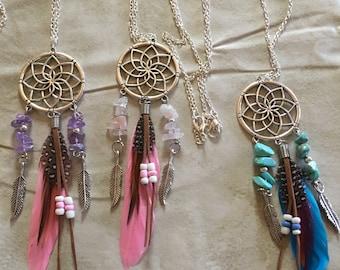 Necklace catches dreams