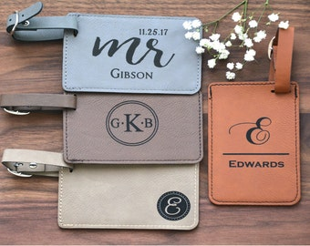 Engraved Luggage Tag, Luggage Tags, Personalized Leather Luggage Tag, Luggage Tags Personalized, Custom Luggage Tag, Monogram Luggage Tag