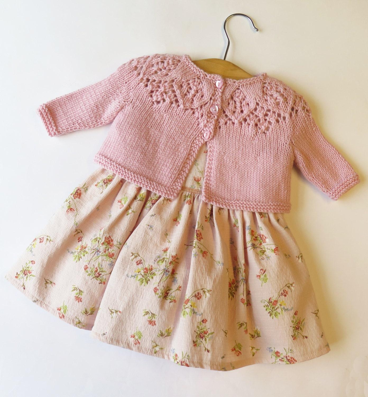 Baby Girl Knitting Pattern Newborn Knitting Pattern