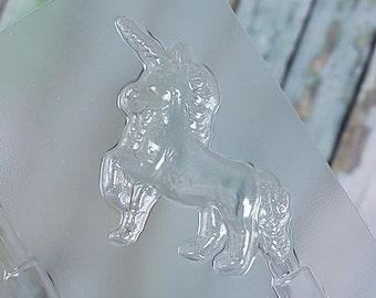 Unicorn Lollipop Molds, Unicorn Chocolate Molds, Unicorn Plastic Candy Molds, Unicorn Chocolate Lollipop Molds, Chocolate Lolly Moulds