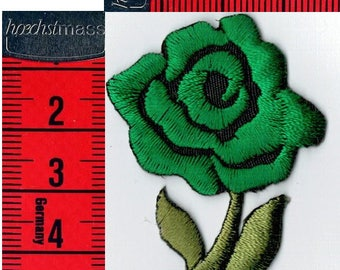 Badges pink green fusible or sew Applique Patch 4.5 x 7.5 cm