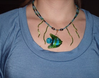 Fish In the Sea Necklace