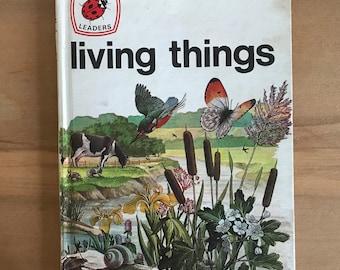 Vintage Ladybird Book of Living Things