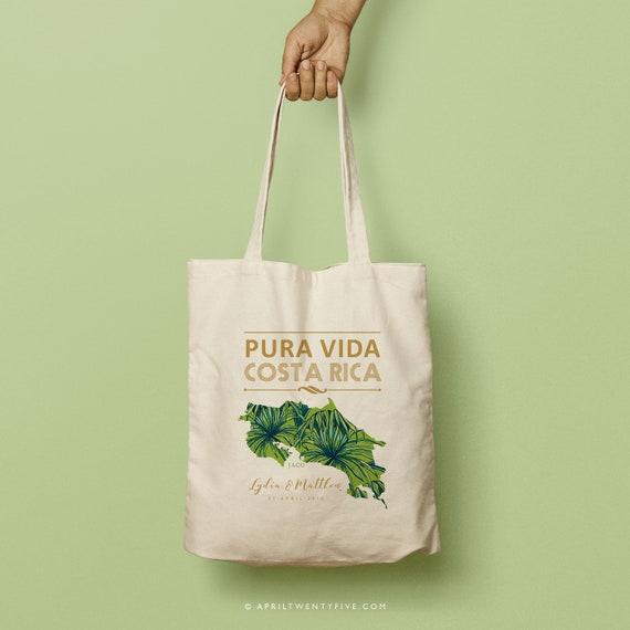 VIDA Tote Bag - Palm on Red by VIDA w9aBqf5