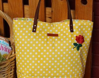 Romantic Yellow bag