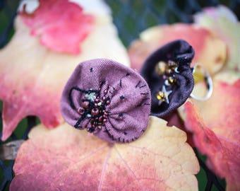 Bagues - pétales de fleur - argent 925