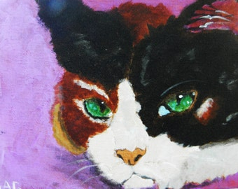 Calico Cat -- Original Art