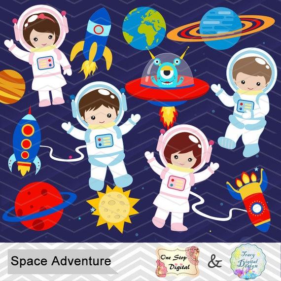 digital astronaut clipart boy astronaut clip art girl rh etsy com astronaut clipart transparent astronaut clipart cute