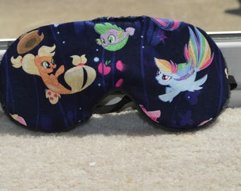 My Little Pony Sleep Mask/ Light Blocking Mask/ MLP Gifts