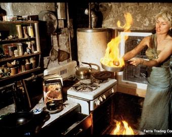 Debbie Harry - Fire In The Kitchen - 1980s - Photo - Deborah Harry - Blondie - CBGB - Angela Tremble - Punk - Rap - Rock n Roll - Punk Rock