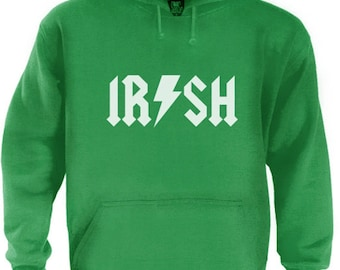 Irish Metal Hoodie For St. Patrick's Day